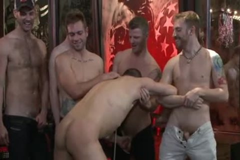 sleazy homosexual thrashing With Facial