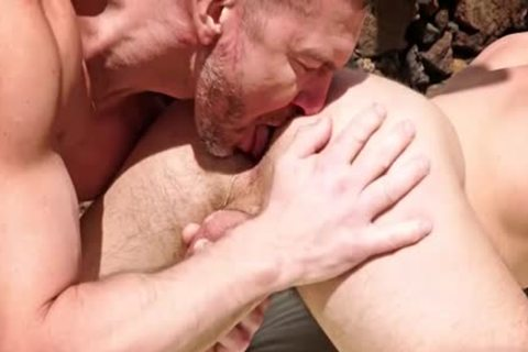 large penis Dilf ass sex With cumshot