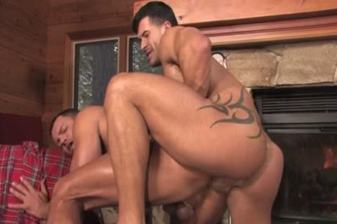 Tattoo homosexual ass stab With cumshot