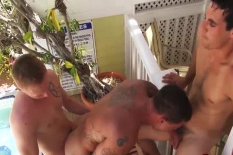 Sebastian young gets Barebacked & Spit Roasted By Zane Anders & Jack King