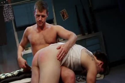 Spanked And plowed For engulfing Himself