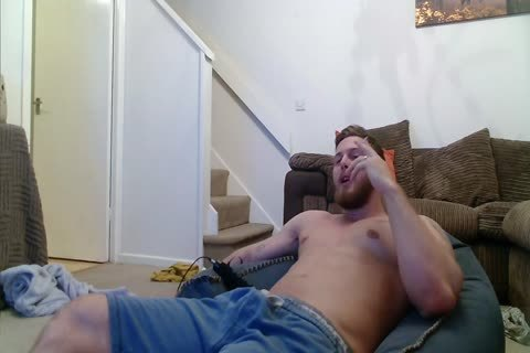 Jack Shows Off On webcam