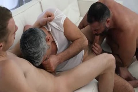 Two Daddies Take unprotected Advantage Of Their boy
