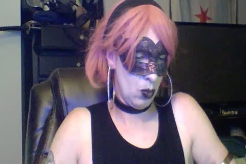 cute Dancing Goth CD webcam Show (part two Of two)