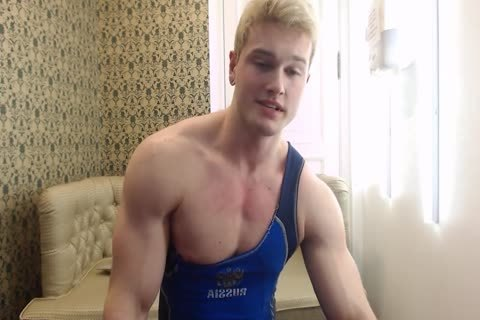 dirty young Russian Muscle Hunk