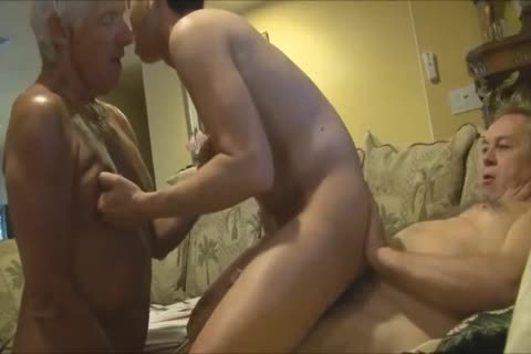 daddy Menn bunch Having pleasure