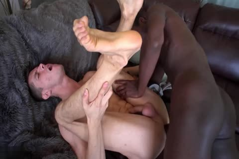 White backdoor nailed By Biggest dark pecker