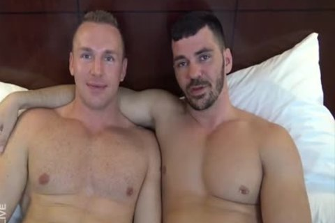 Adam Adonis & Brogan Reed bare In Dallas