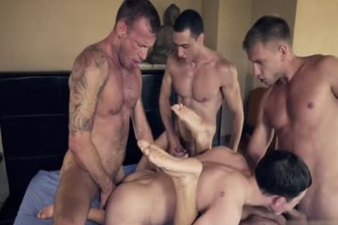delicious gay DP With cumshot