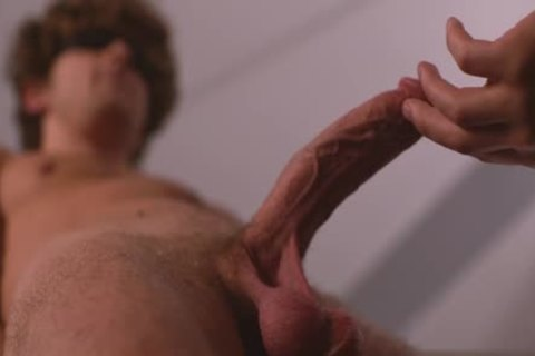 large rod gay butthole invasion With sperm flow