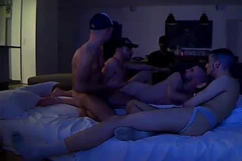 bunch Of homosexual guys Have pleasure Sharing The Same sofa