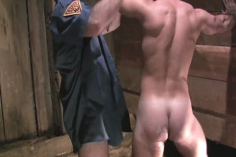 Two filthy Policemen Fist bang And Sodomise