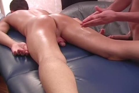 A Sensual Massage For This homo lad