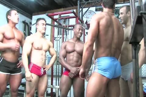 astonishing gay video With Latin, Hunk Scenes