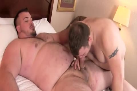 overweight fat giant cock bare Junior Uncle Bear plump