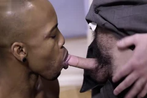monstrous cock gay Interracial With cumshot
