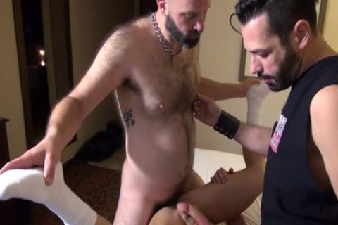 Muscle Bear ace nail And cumshot