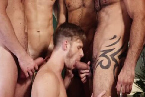 sweet homosexual threesome And cumshot