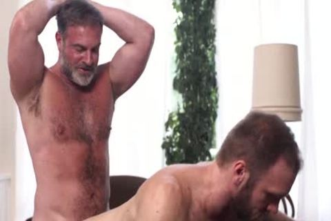 MormonBoyz - Bearded Daddy receives A admirable drilling