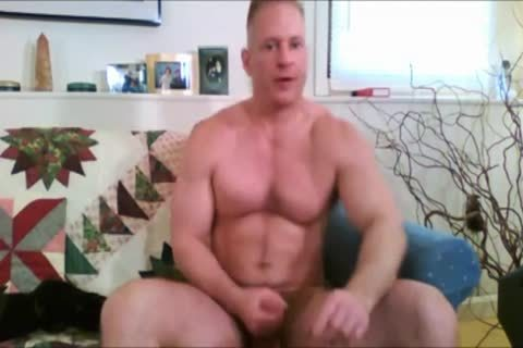 Verbal Dilf Jerks Off On webcam