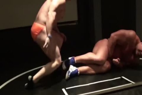 Kyle And Brad Wrestle