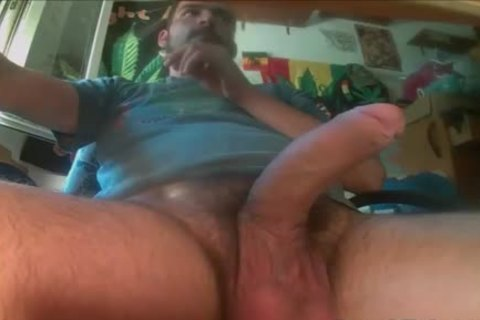 Balls Full Of cum receives Solo Jerked Off
