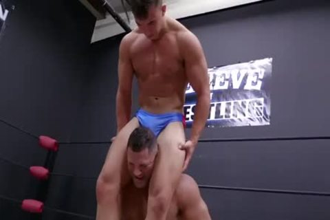 Daddy And Son Wrestling! Daddy Is So attractive In Minimal Speddo, not quite A thong