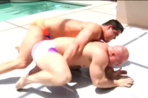 Muscle Jobber Chaos gets Destroyed And Sleepered Wrestling
