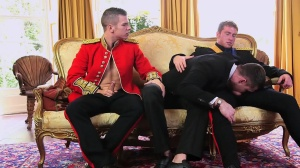 A Royal Fuckfest - Connor Maguire & Paul Walker butthole sex
