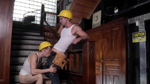 Daddy's Workplace - Cameron Kincade and Matthew Ryder anal Love