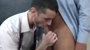 Car Jerk - Jake metallic & Dominic Pacifico anal sex