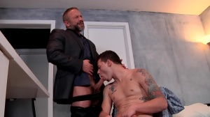 Stepfather's Secret - Dirk Caber and Trevor Spade anal Nail