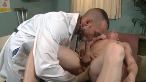 The Prostate Exam - Jessie Colter with Evan mercy butthole Hump