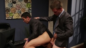 Employee Of The Month - Jimmy Johnson & Lance Luciano ass sex