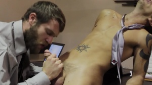 The Boardroom - Colby Keller with Shane Frost anal Hump