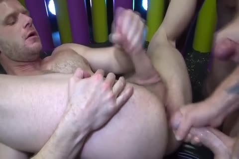 concupiscent Bottom Takes On Three dirty dudes With biggest penises