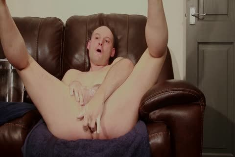 SOFA in nature's garb chap SHAVES wet SOAPY jack off sperm