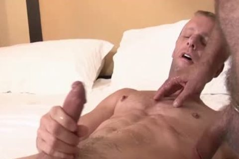 Hung Daddy bare fucks His ally