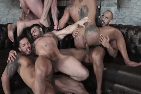 Sex-Party - Six guys Have pleasure