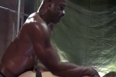 Aaron Trainer Trains Max Adonis ass