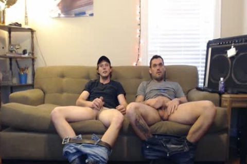 these boys said They Were Straight, But They'd Still jerk off. They didn't Know The Camera Was On.