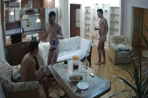 pretty Voyeur homo threesome With a lot of oral-stimulation