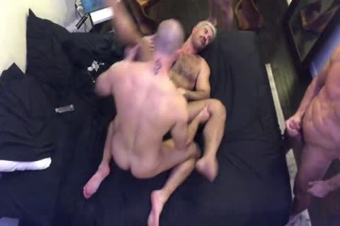 JC Adam K & Manuel S In bare Threeway