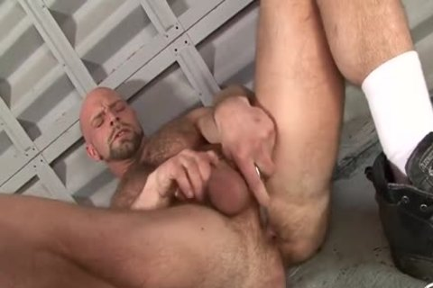 Dirk Jerks Off With A dildo