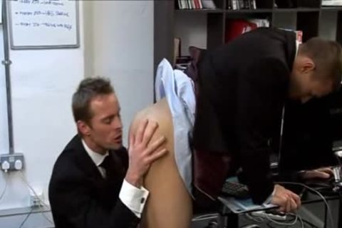 excitement For His kinky blond Boss