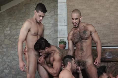 Sex-Party - Six males Have pleasure