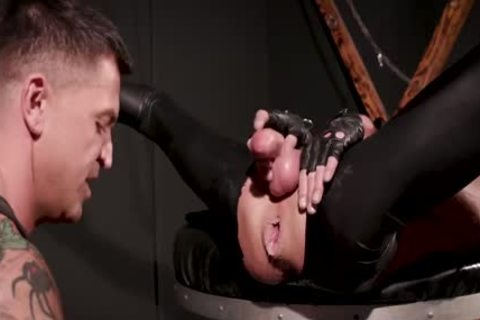 darksome Box, Double Fist Gimp - Dominic Pacifico   Pup Mask