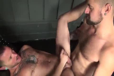 A entire Lot Of Sloppy, cum-dripping a-hole plowing