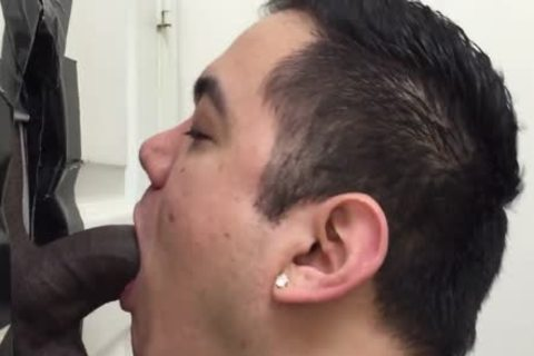 Hetero black man Licked By A lad For The first Time black