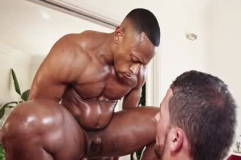Interracial duett Barefuck With King-size cock